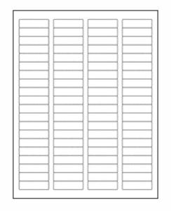 100 Sheets Laser/Inkjet Labels 1/2