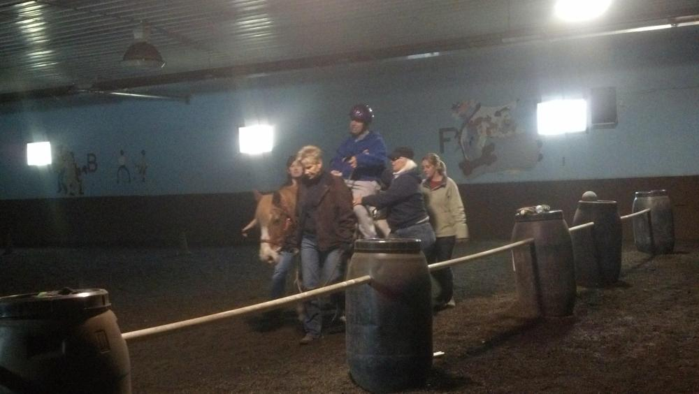 Therapeutic Riding Program Gets Cowboy Back In The Saddle