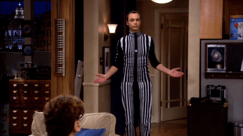 Sheldon as the Doppler Effect on the Big Bang Theory