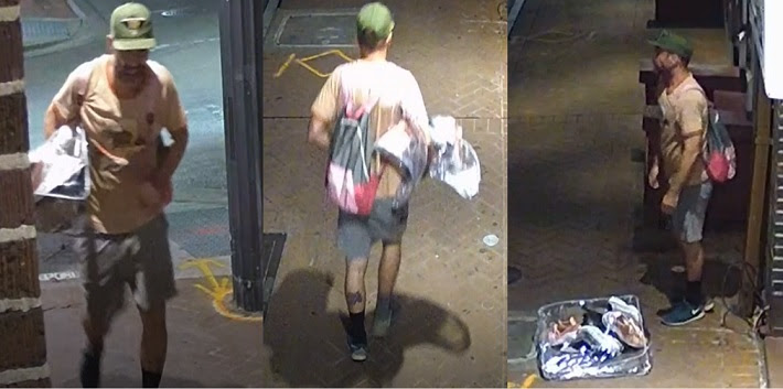 Second gutter theft suspect strikes French Quarter in 2 weeks