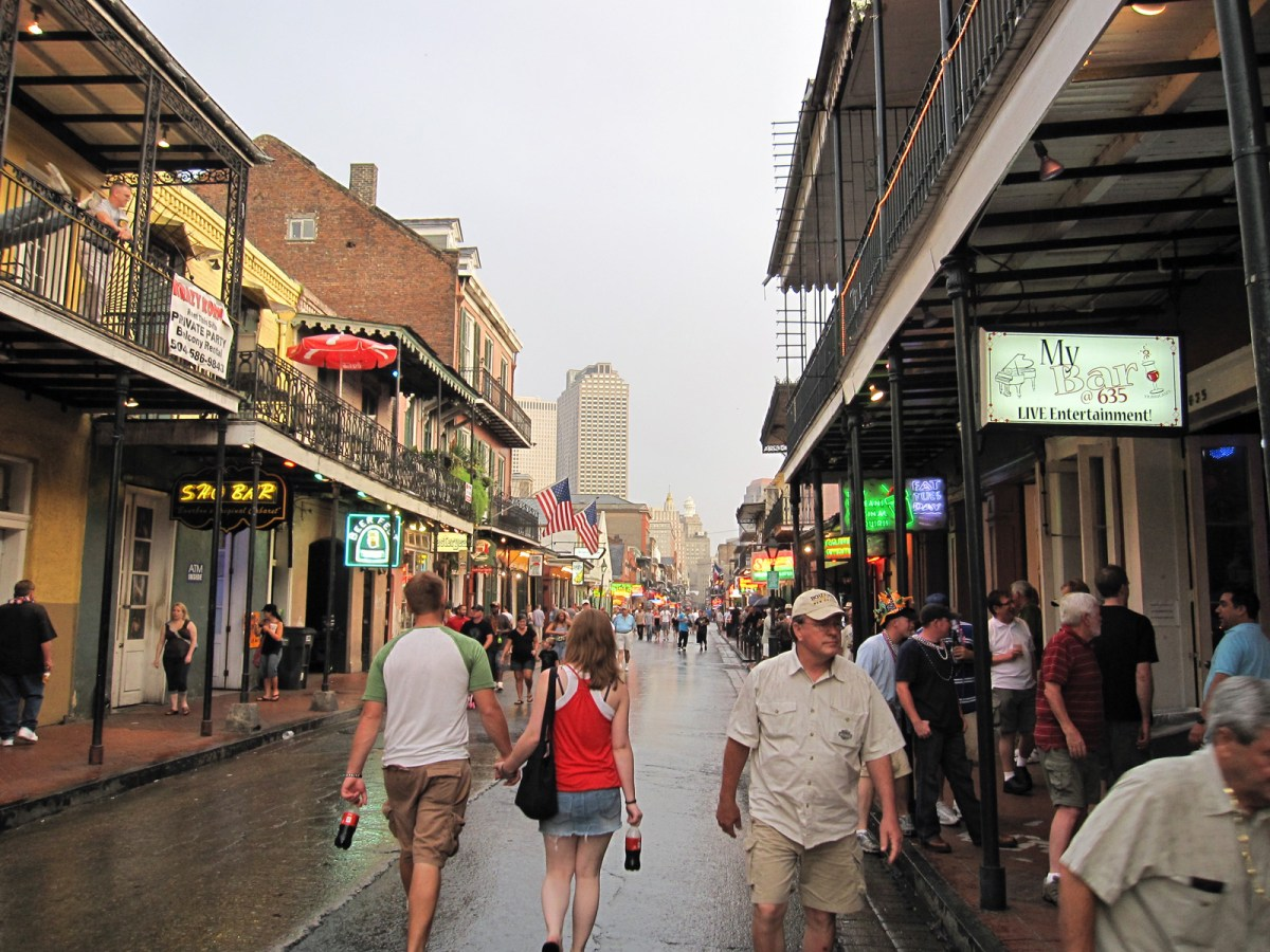 Fill out this survey to let New Orleans city officials know your ideas on French Quarter pedestrianization