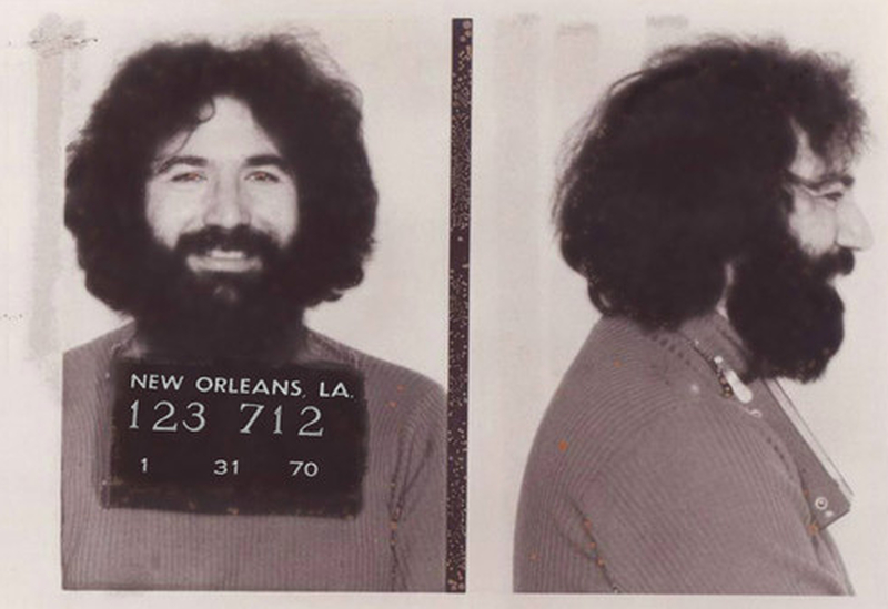 """The Grateful Dead was """"busted down on Bourbon Street"""" 50 years ago on this day"""