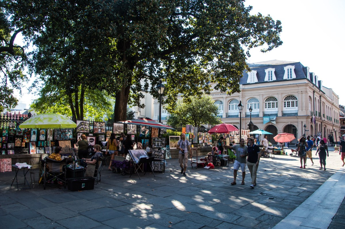 25 applicants selected for new Jackson Square artist occupational license