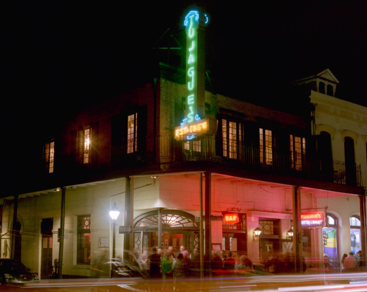 Original Tujague's neon sign will be duplicated, most likely won't move to new location