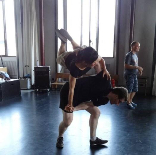 acrobatic swing