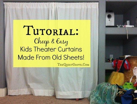 Theater Curtain Tutorial