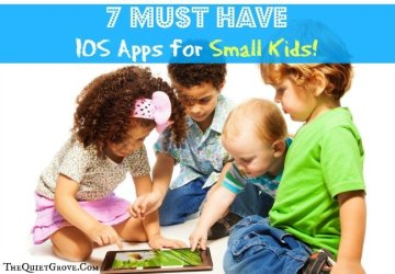 7 Must Have IOS Apps for Small Kids!