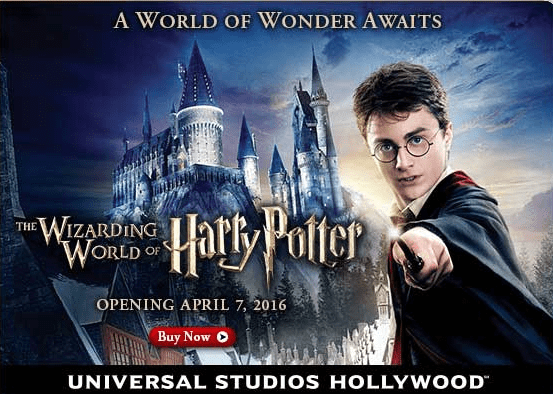 **Book now and save** The Wizarding world of Harry Potter at Universal Studios!