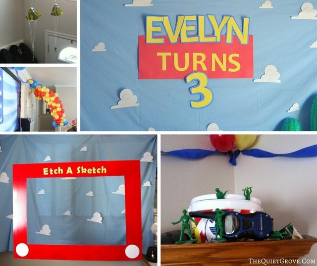 How to Throw the Perfect Toy Story Birthday Party!!