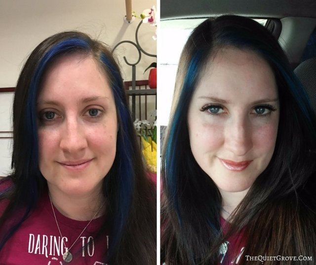 Before and After- The first time I got Eyelash Extension. Starlight Studio Review
