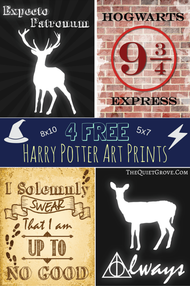 It's just a photo of Soft Free Printable Harry Potter