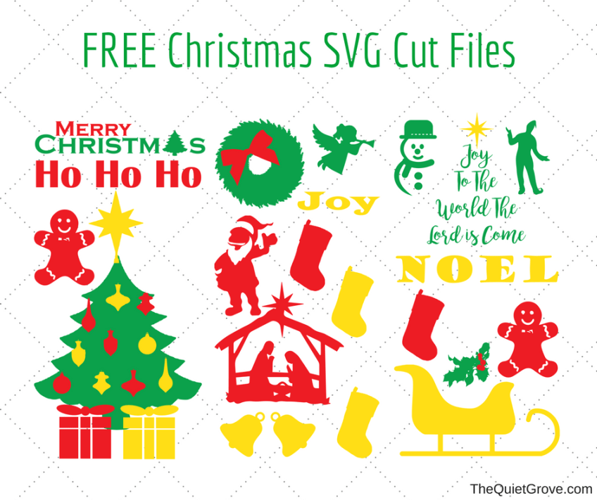 Free Christmas Svg.Free Merry Christmas Svg Cut File 1 The Quiet Grove