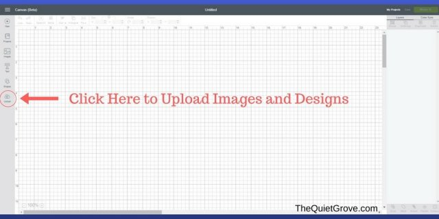 How to Upload Your Own Images Into Cricut Design Space! ⋆ The Quiet