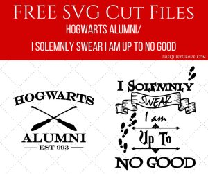 I created this design for a Harry Potter Fandom Shirt I made (using my  Cricut) to wear to my local Comicon. The Hogwarts Alumni Design was for the  front and ...