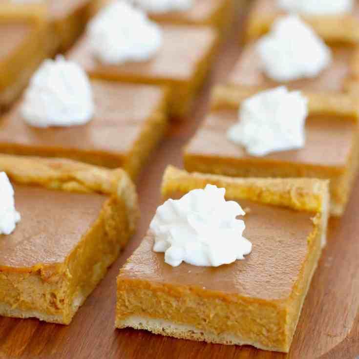 Pumpkin Dessert Bars Recipe: 12 Delicious Pumpkin Desserts To Enjoy This Fall ⋆ The