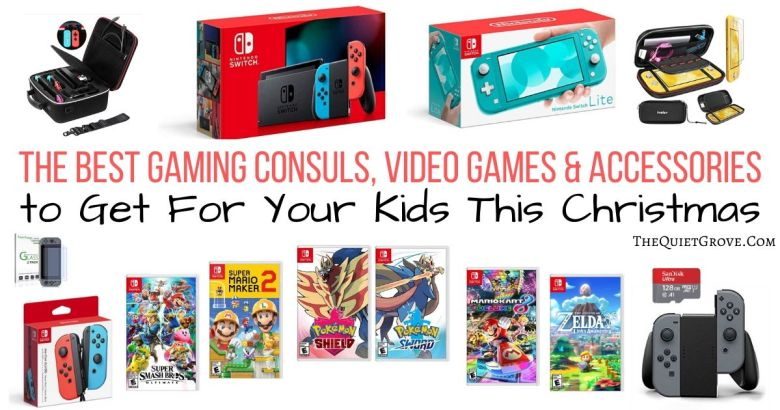 The Best Gaming Consuls Video Games Accessories To Get For Your Kids This Christmas The Quiet Grove