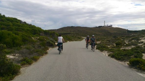 Tested our fitness beyond natural levels by cycling to a lighthouse