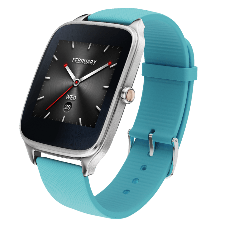 ZenWatch 2_Silver with rubber_blue