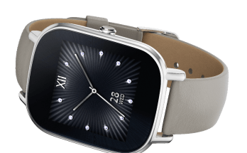 ZenWatch2_Silver with leather Khaki