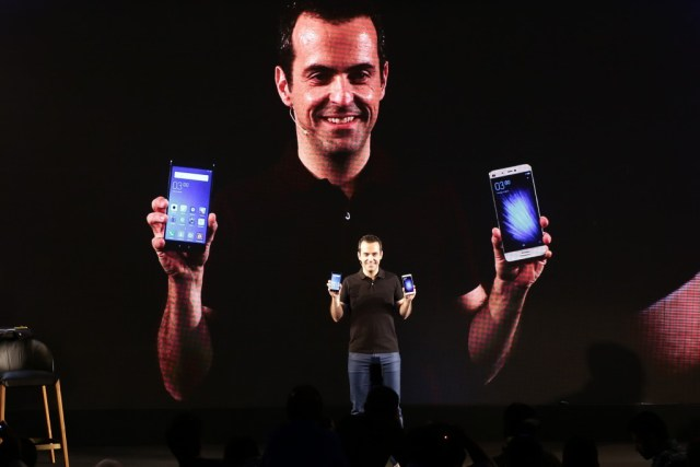 Hugo Barra, VP- Global, Xiaomi announces the launch of Mi 5 in New Delhi
