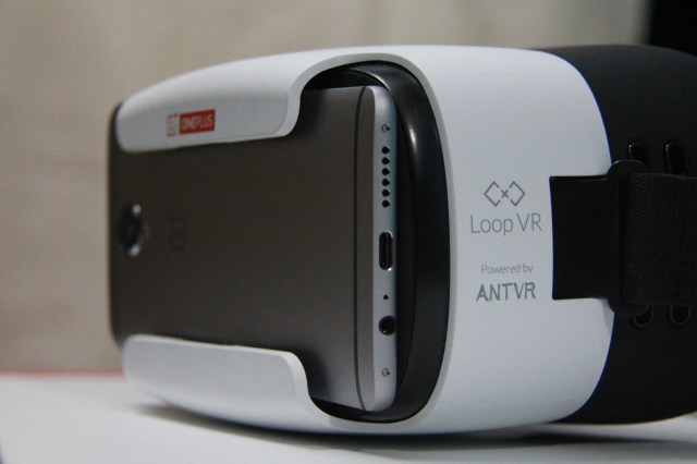 With VR Headset