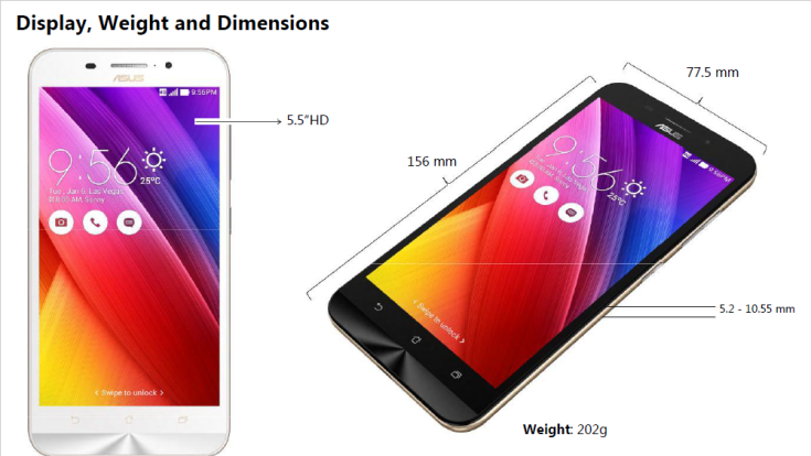 Display Weight and Dimensions