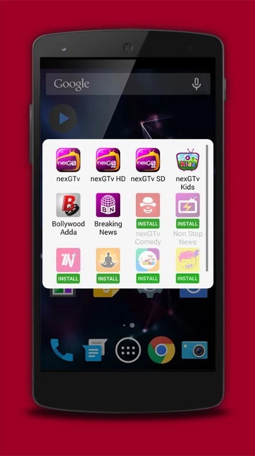 My nexGTv App screenshot 1