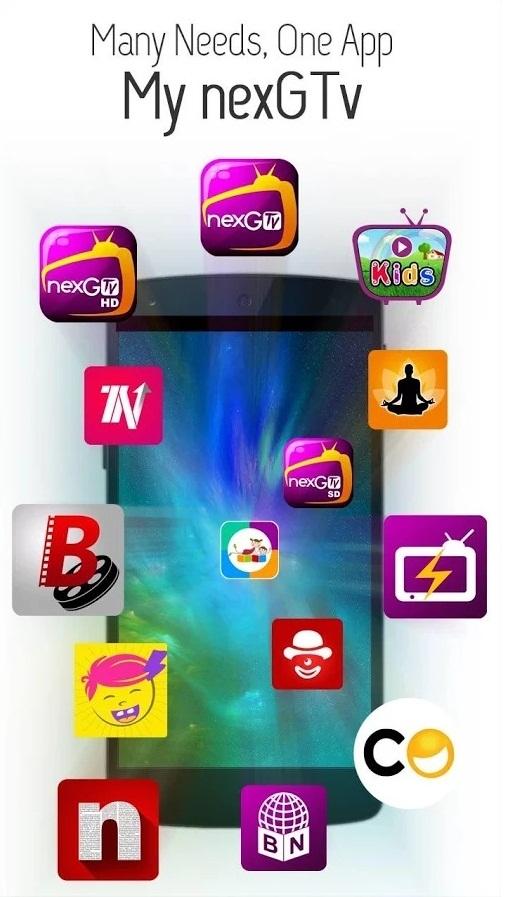 My nexGTv App screenshot 2