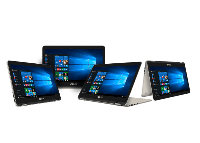 ASUS ZenBook Flip_UX360CA_Solid hinge with 4 using modes