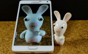 Hare taking a selfie