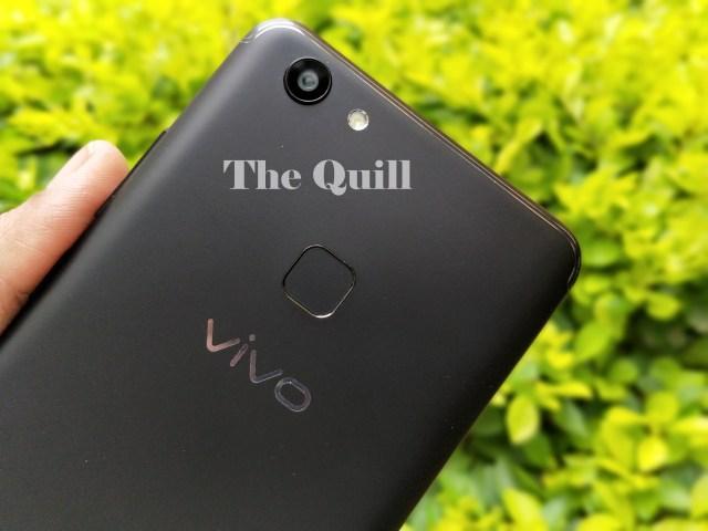 Vivo V7+ Rear View