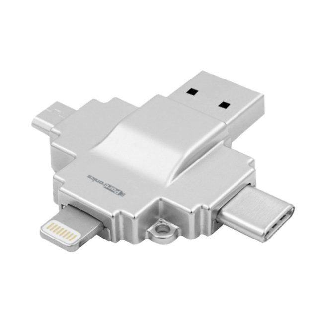 Portonics 4-in-1 card reader Diski