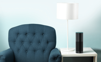 Amazon Echo Plus On The Table