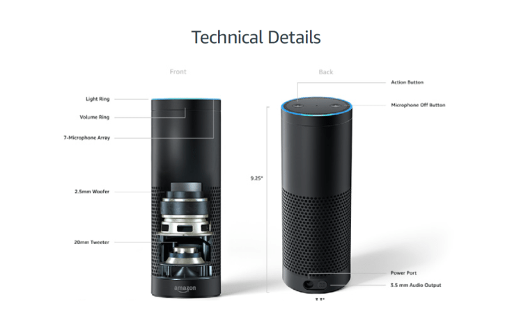 Echo Plus Technical Details