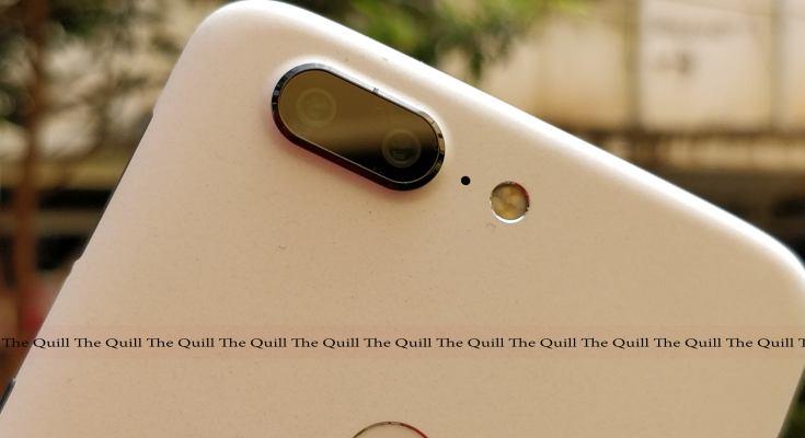 OnePlus 5T Star Wars Edition Rear Dual Camera