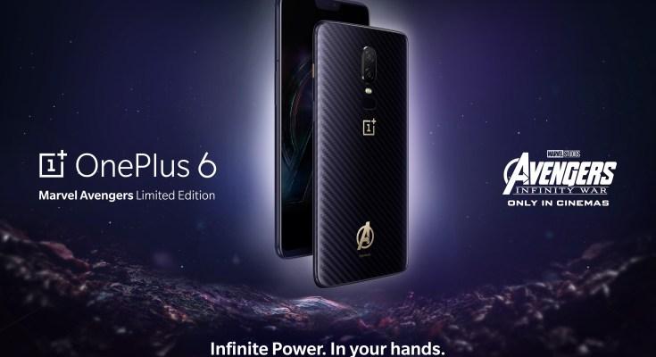 OnePlus 6 X Avengers Edition