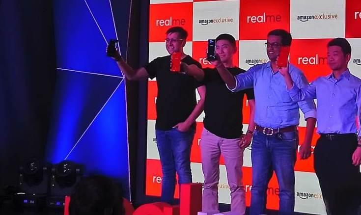 L-R, Madhav Seth, Levi, Aditya Murthy, T L Lee