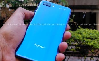 Honor 10 Rear View
