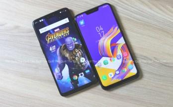 OnePlus 6 vs Zenfone 5Z