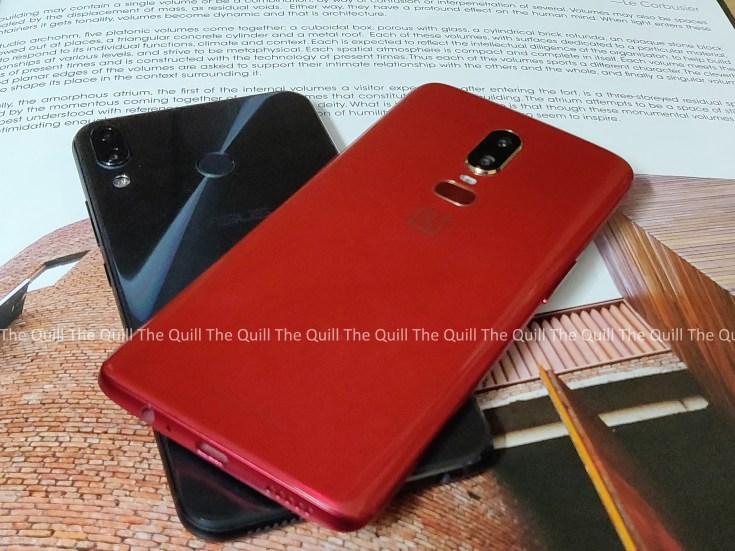 OnePlus 6 and Zenfone 5Z