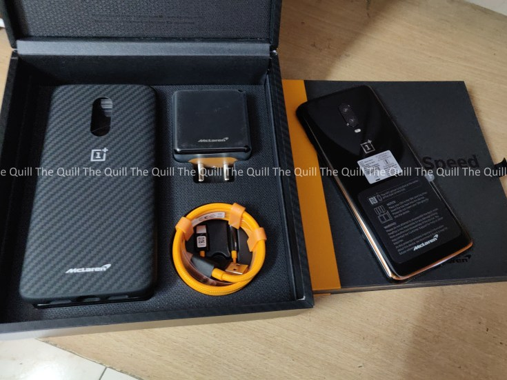 OnePlus 6T McLaren Edition In the Box