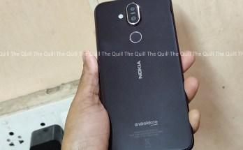 Nokia 8.1 Rear View
