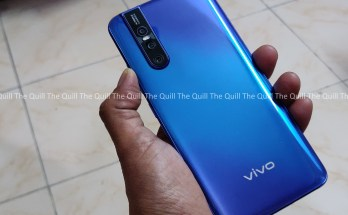 Vivo V15 Pro Rear View