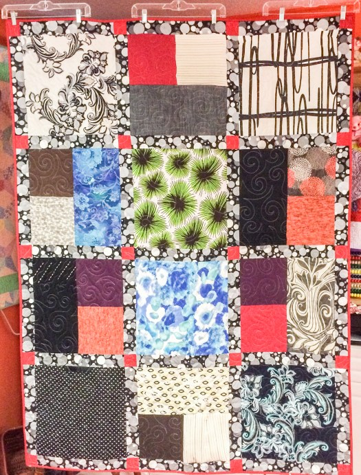 Memory Quilts made from women's clothing