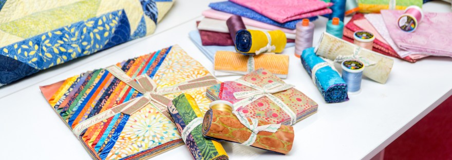 From fat quarters to ten inch squares to five inch precuts, Island Batik fabric is the beginning a a beautiful creation