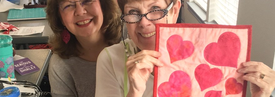 Being a part of a quilting guild is sharing the love