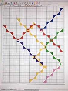 EQ7 computer quilt design
