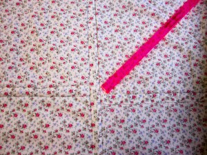 All In One Piecing and Quilting method