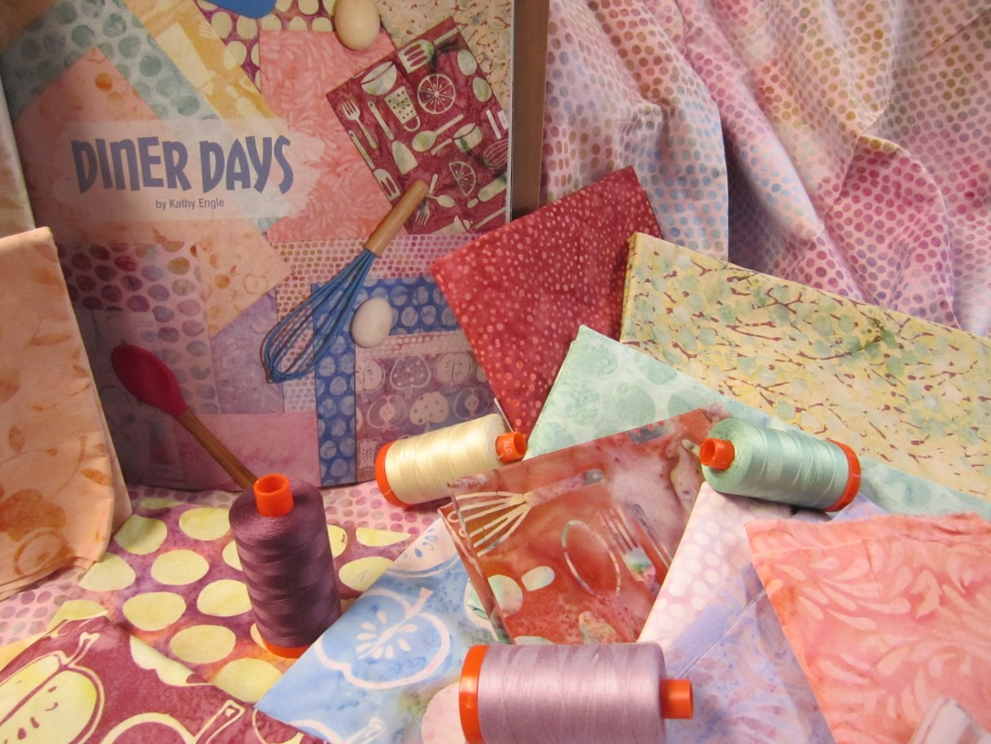 Days gone by, Diner Days Fabric collection