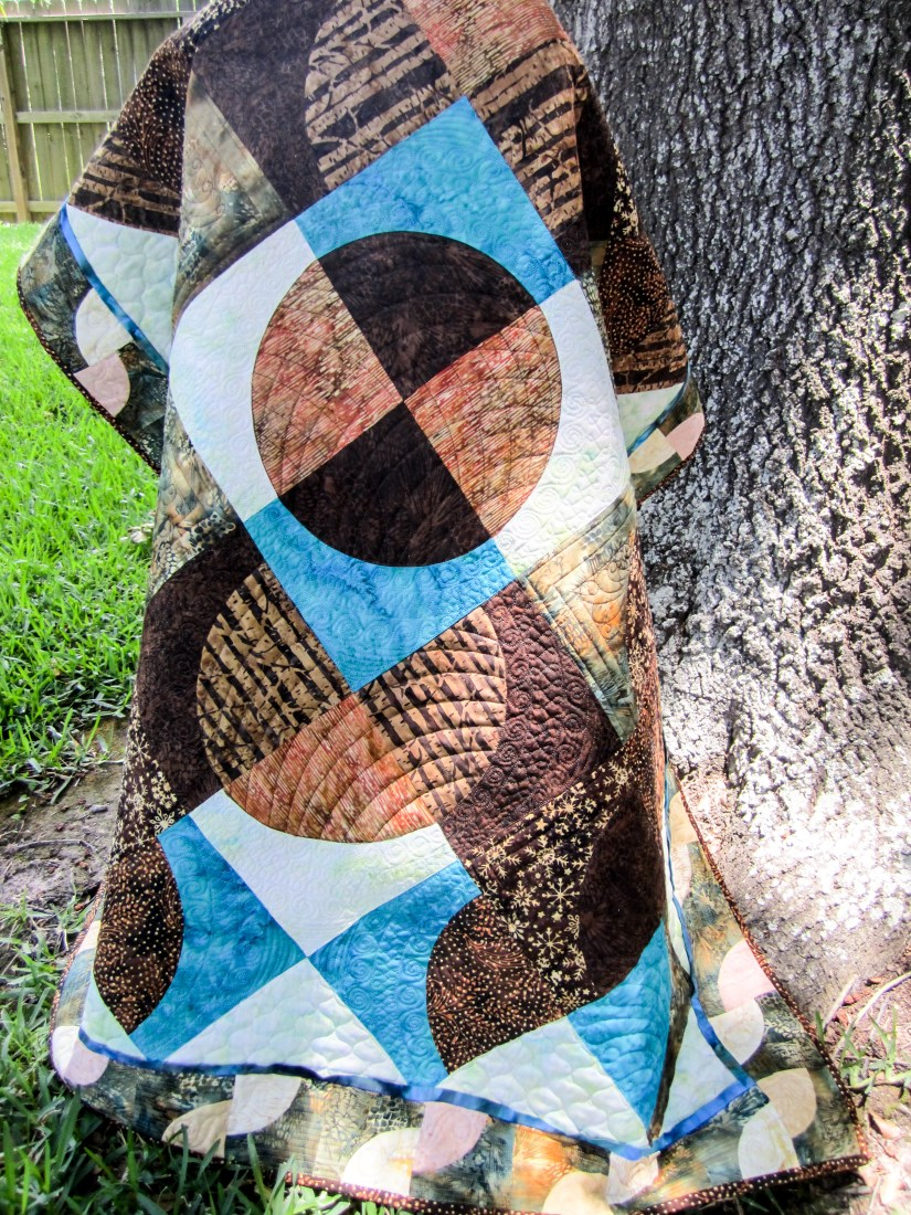 Photo by Eric Overton, Overton Photography Mint Chocolate Chip Quilt by The Quilt Rambler